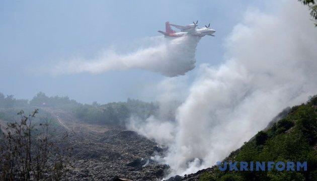 Прокурор Львівщини назвав причини пожежі на Грибовицькому сміттєзвалищі