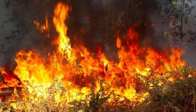 Во Франции из-за пожара эвакуировали 10 тысяч человек