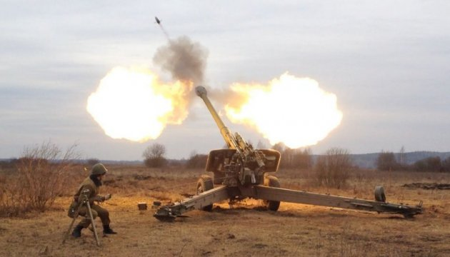 Militants launch 61 attacks on Ukrainian troops in last day