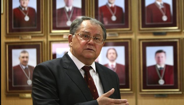 Экс-председатель КСУ продолжит руководить судом