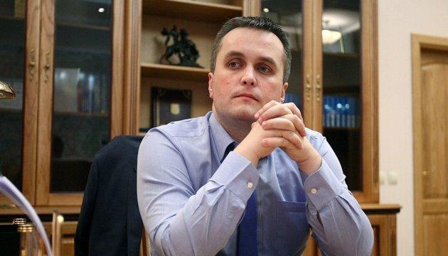 Холодницький дивується, що Розенблат не прийшов по відсуджені документи