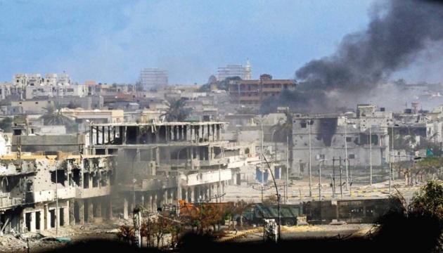 Авиация Ливии нанесла удары по силам мятежного генерала Хафтара