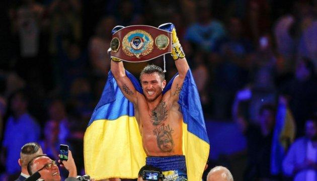 乌克兰人洛马琴科入选世界十大最佳拳手