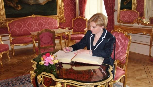 Ukraine's Ambassador to Hungary Liubov Nepop chairs Danube Commission