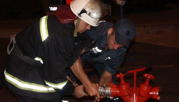 К ликвидации последствий взрыва в Балаклее спасатели привлекли 50 единиц спецтехники