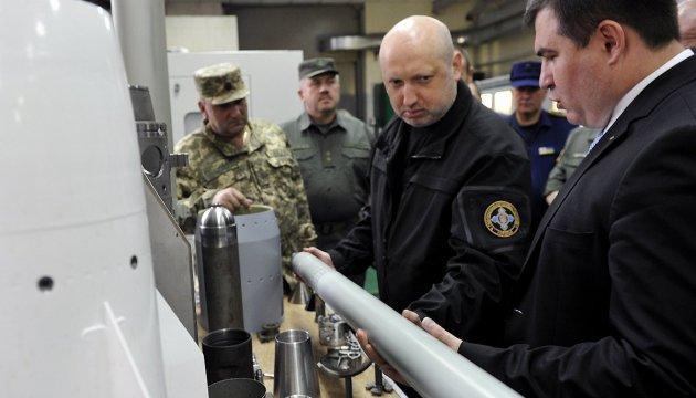 Турчинов: Україна продовжить ракетні навчання попри істерики Москви