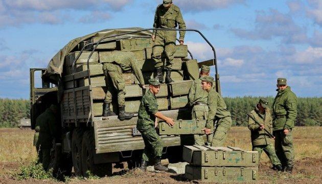 За неделю Россия привезла боевикам более тысячи тонн боеприпасов - разведка