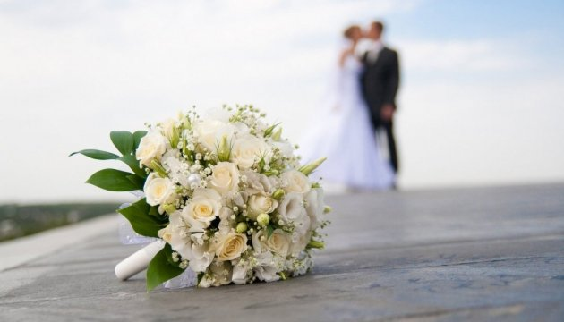 More than 1,800 couples to get married in Ukraine on Valentine's Day
