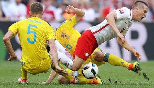 Футбольная сборная Украины сыграет товарищеский матч с Польшей