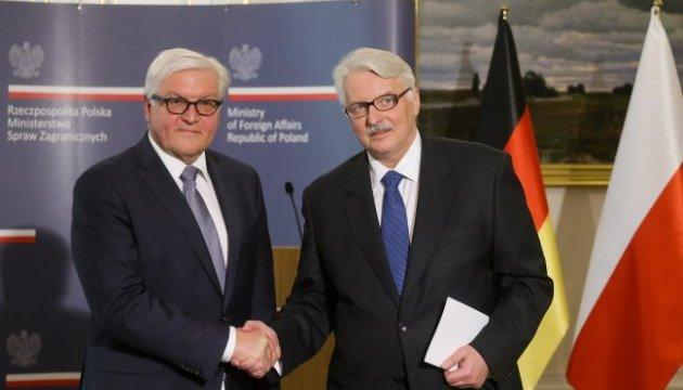 Ващиковський і Штайнмайєр: Мінські домовленості мають бути виконані повністю