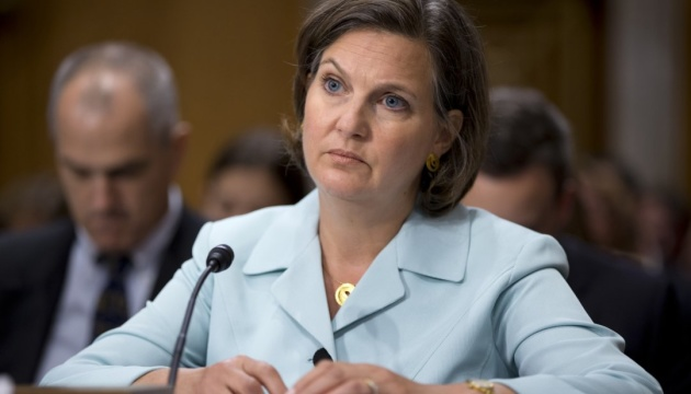U.S. Department of State pleased with Victoria Nuland's visit to Kyiv