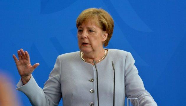 Merkel convoca a los líderes de los países del cuarteto de Normandía a la cumbre