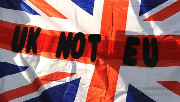 Британія розробляє план на випадок провалу перемовин по Brexit