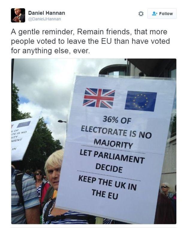 Марш за Европу в Лондоне фото: АР