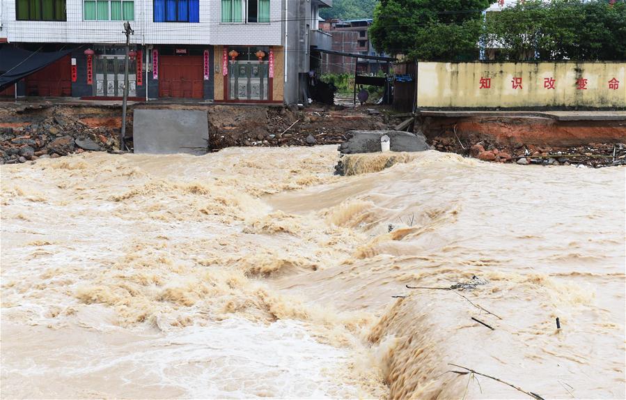 тайфун в Китае фото: Синьхуа