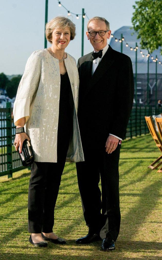 Філіп і Тереза Мей на фестивалі музики та мистецтва Хенлі