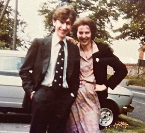Філіп і Тереза Мей на весіллі у друзів на початку 1980-х