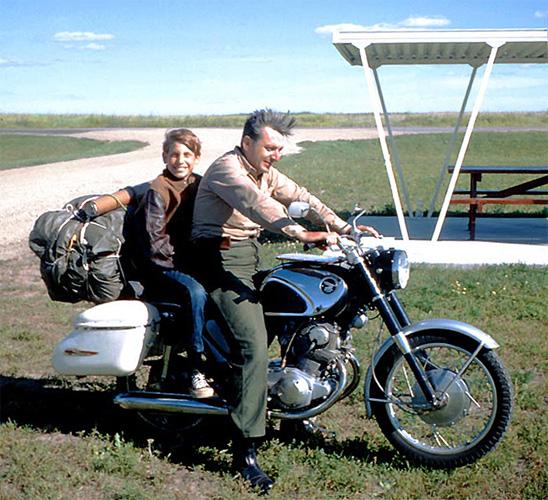 Роберт Пирсинг и его сын