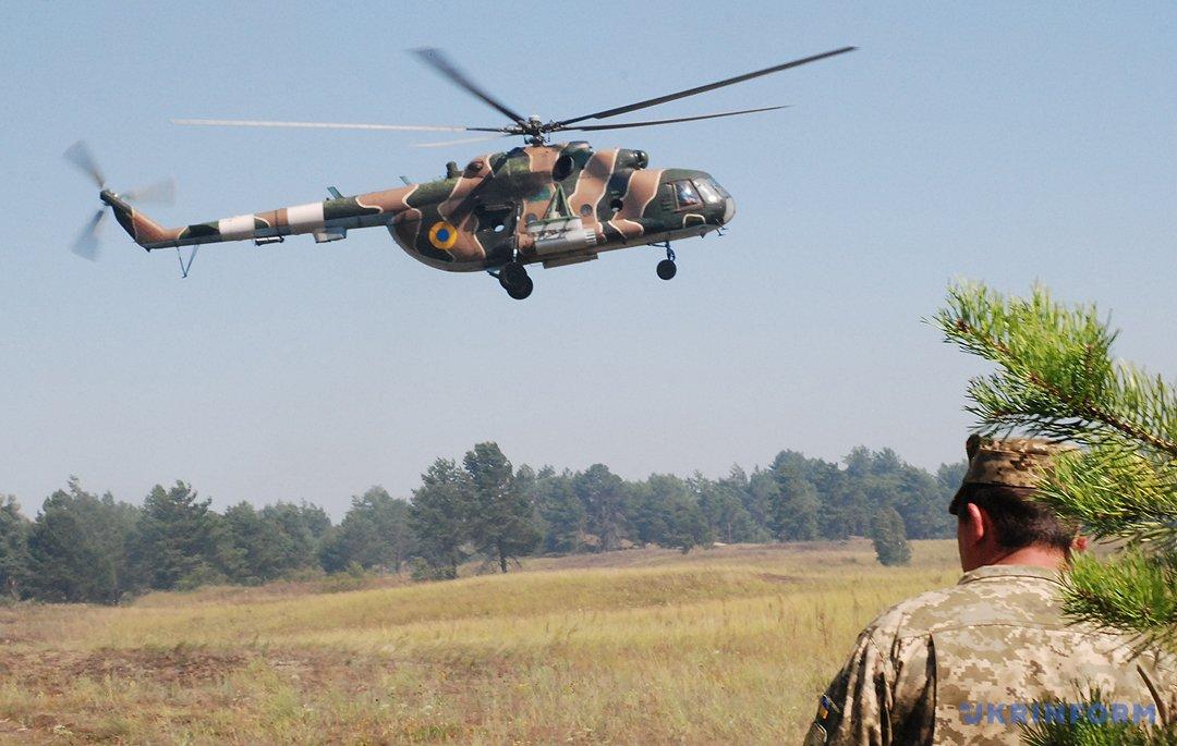 Вертольоти прибували й прибували