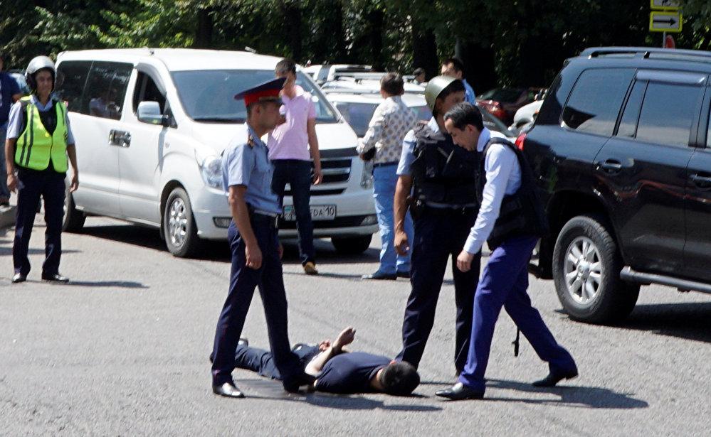 задержанный за стрельбу в Алматы