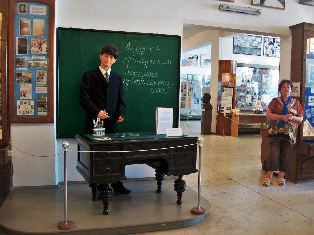 Восковая фигура Хавкина в Музее истории города