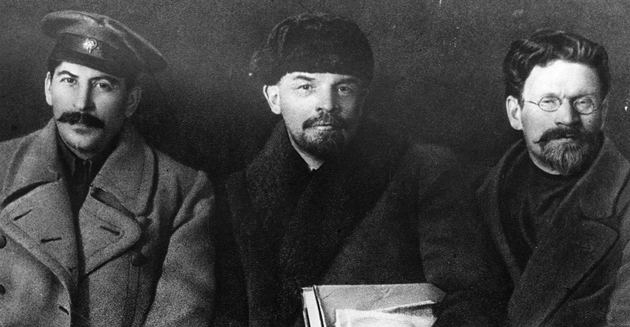 Сталин, Ленин, Троцкий