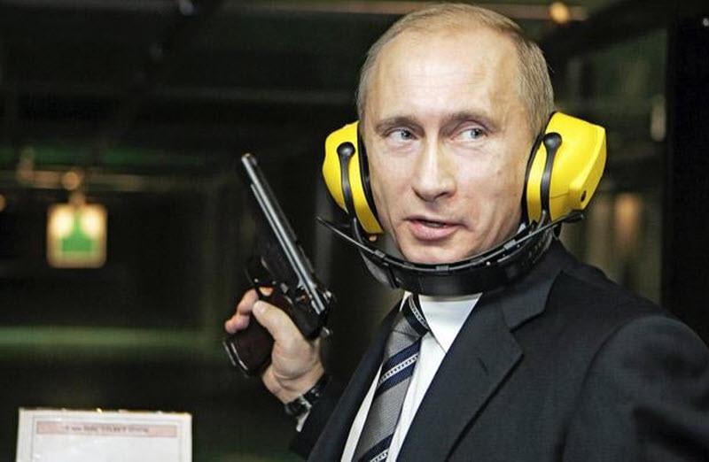 Путин с пистолетом