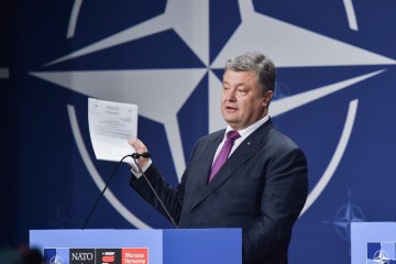 NATO more effective than Budapest Memorandum - Poroshenko