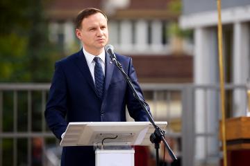 Präsidentenkanzlei bestätigt Besuch von Andrzej Duda in Ukraine