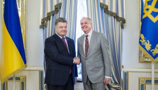 President Poroshenko, CEO of Unilever discuss investment climate in Ukraine