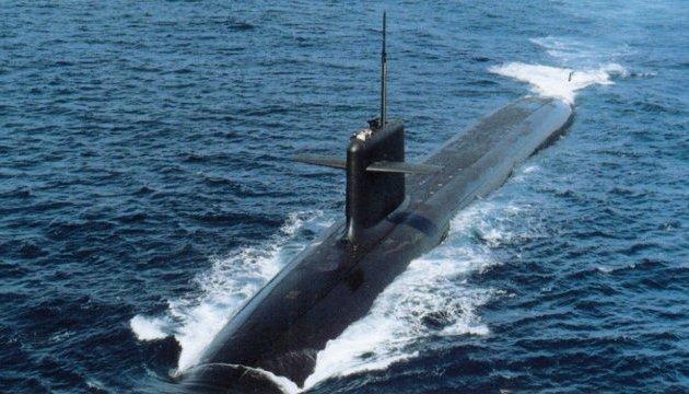 Канада направила подводную лодку в Японию
