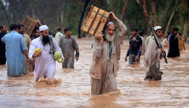 В Пакистане от наводнений погибли более 30 человек