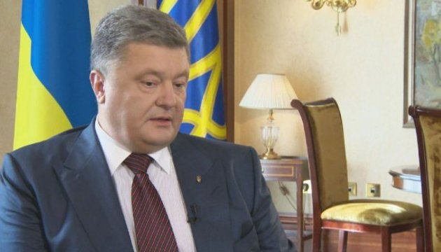President Poroshenko: Hybrid threats in region require new dynamics of relations between Ukraine and Azerbaijan