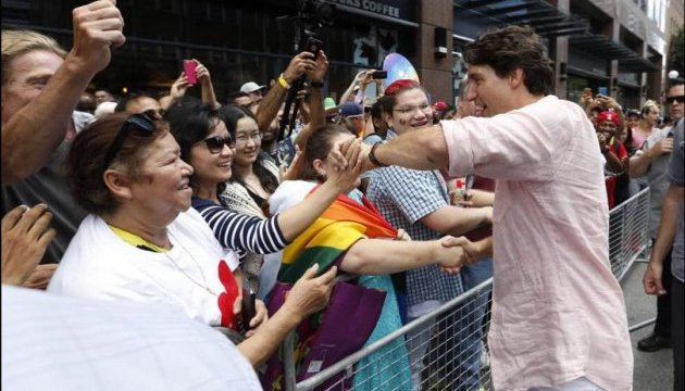 Прем'єр-міністр Канади взяв участь у прайд-параді