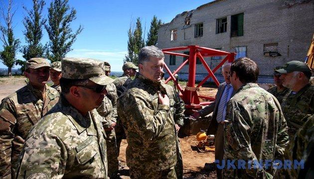 Відбудовувати Донбас нам допоможуть міжнародні партнери - Президент