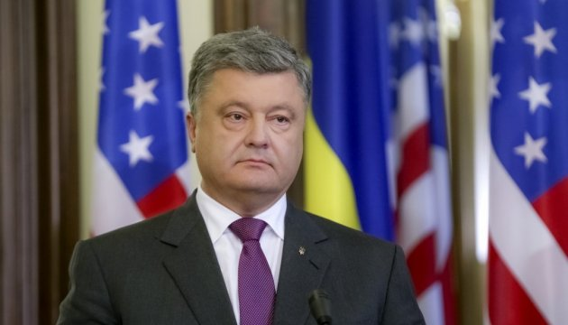 President Poroshenko: We stand together with France in these difficult times