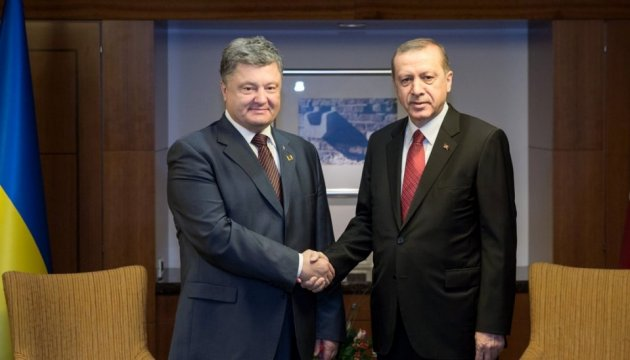 Meeting of Presidents of Ukraine, Turkey scheduled for the first half of year