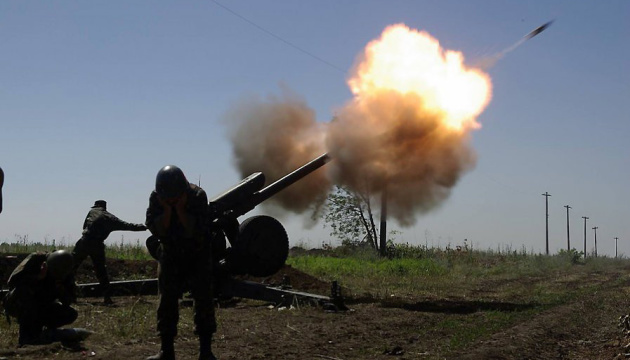 Militants launched 30 attacks on Ukrainian troops in Donbas in last day