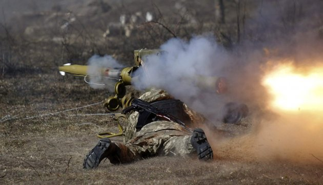 Militants launched 94 attacks on Ukrainian troops in Donbas in last day