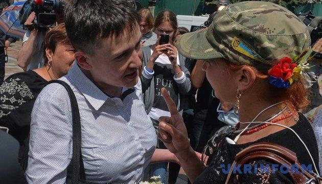 Савченко верит, что конец войне уже близко