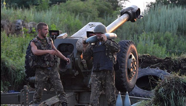 Militants launch 96 attacks on Ukrainian troops in Donbas in last day