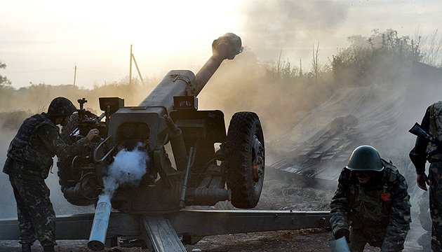 Militants launch 47 attacks on ATO troops in eastern Ukraine
