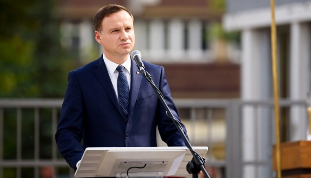Ambassador confirms Polish President Duda to visit Ukraine on its Independence Day