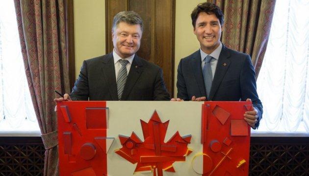Порошенко 22 вересня розпочне робочий візит до Канади