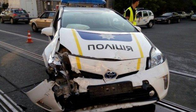 В Одесі сталася потрійна ДТП за участі поліцейського Prius