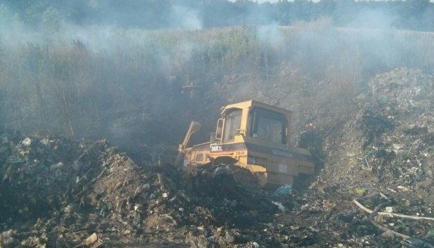 Експертиза встановила, що підпалу на Грибовицькому сміттєзвалищі не було