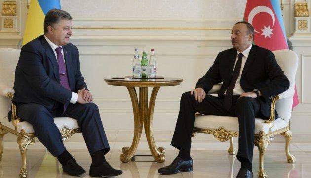 Україна та Азербайджан домовилися відродити проект Одеса-Броди