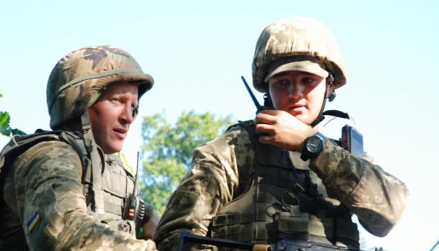 ATO soldiers congratulate Ukrainians on Independence Day