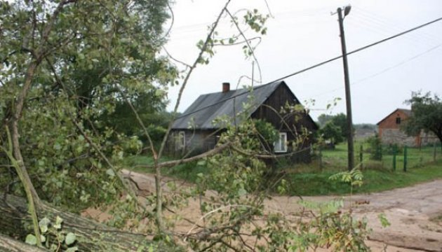 More than 120 Ukrainian villages without electricity following storms