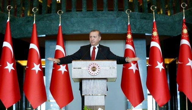 Ердоган звинуватив ЄС у